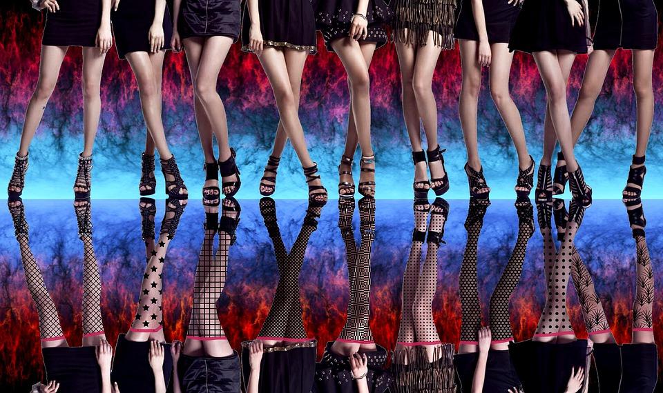 ženy, nohy