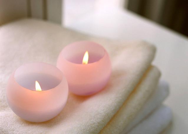 Sviečky, uteráky